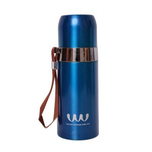 Blue Stainless Steel Water Bottle