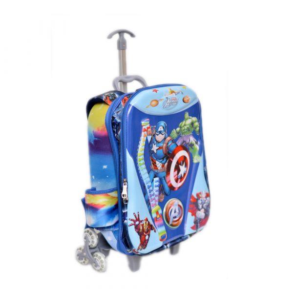 Avengers School Trolley Bag