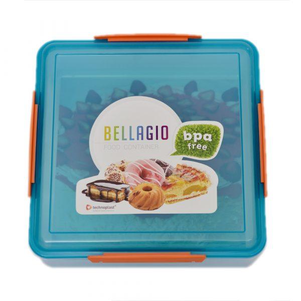 Blue School Lunch Box