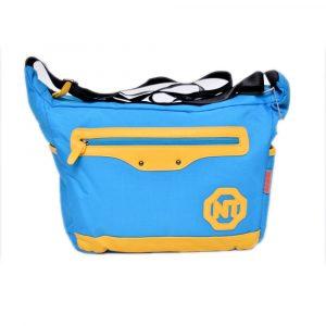 Blue School Shoulder Bag