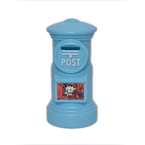 Blue Spiderman Money Box