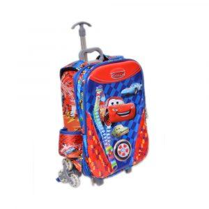 Cars School Trolley Bag