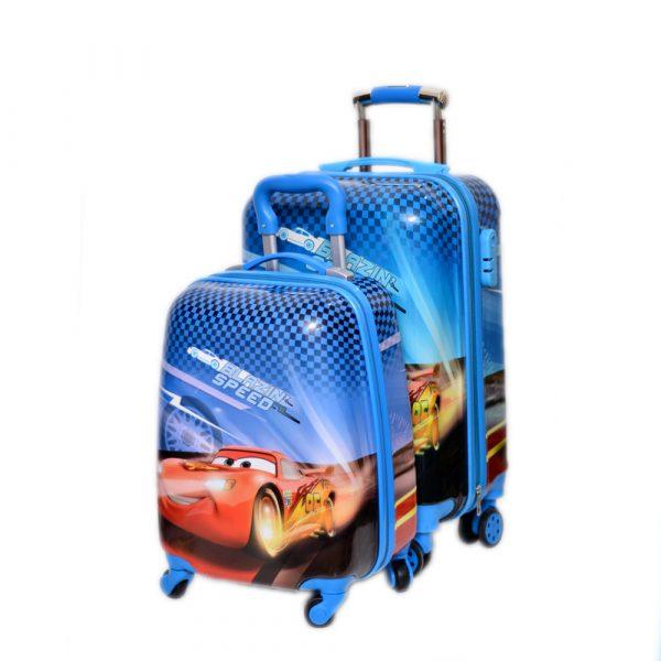 Cars School Trolley League Bag