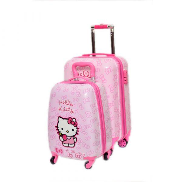 Hello Kitty School Trolley League Bag