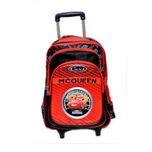 McQueen Cars School Trolley Bag