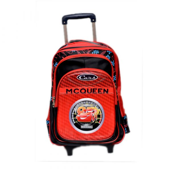 McQueen Cars School Trolley Bag