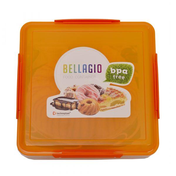 Orange School Lunch Box