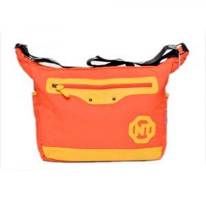 Orange School Shoulder Bag