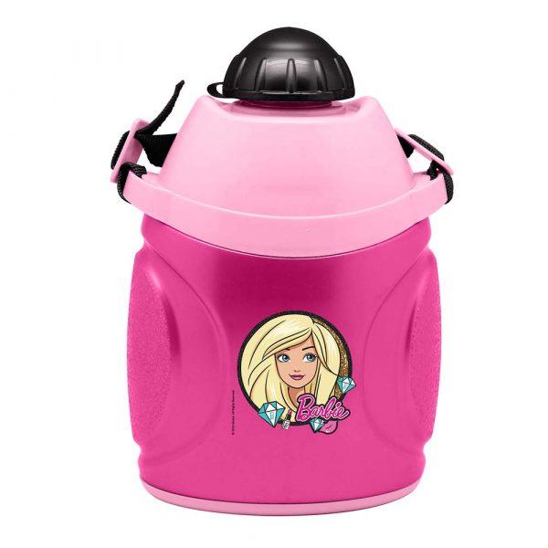 Pink Barbie School Water Bottle