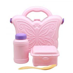 Pink Kids School Set
