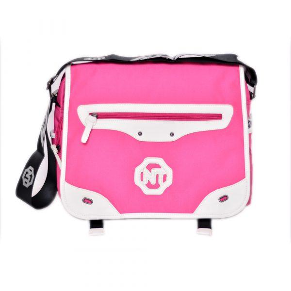 Pink School Shoulder Bag