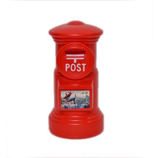Red Spiderman Money Box