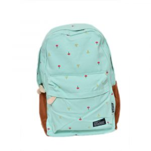 Sea Green School Bag