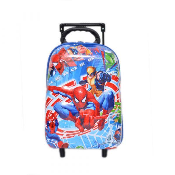 Spiderman School Trolley Bag