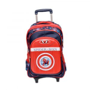 Spiderman School Trolley Bag