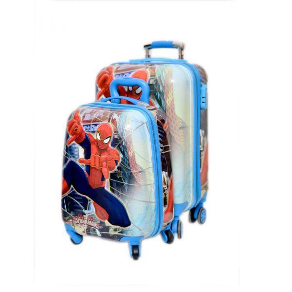 Spiderman School Trolley League Bag