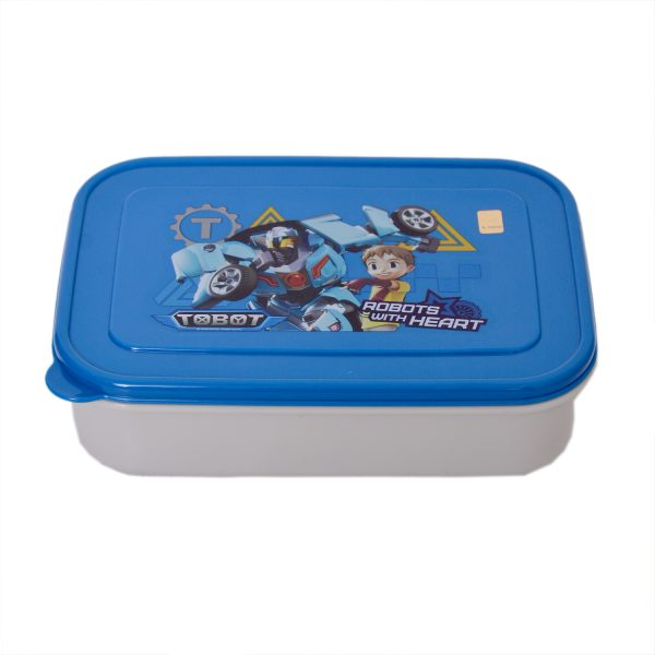 Tobot School Lunch Box