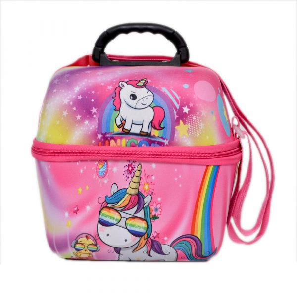 Unicorn School Lunch Bag