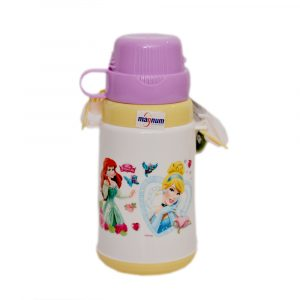 White Princess School Water Bottle