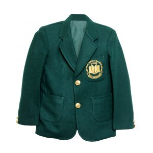 Green APSACS School Uniform Blazer