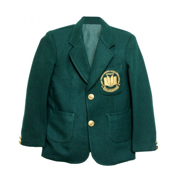 Green APSACS School Uniform Blazer
