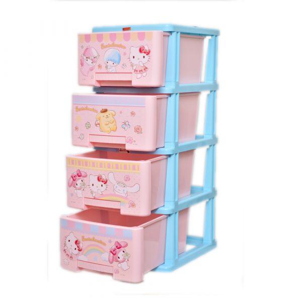Hello Kitty Pink Storage Drawer