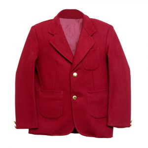 Maroon School Uniform Blazer